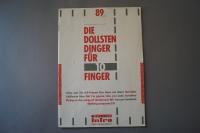 Die dollsten Dinger für 10 Finger Heft 89 Notenheft