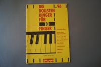Die dollsten Dinger für 10 Finger Heft 96 Notenheft