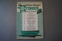 Die dollsten Dinger für 10 Finger Heft 50 Notenheft