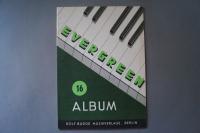 Evergreen Album 16 Notenheft