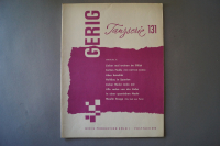 Gerig Tanzserie Heft 131 Notenheft
