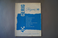 Gerig Tanzserie Heft 140 Notenheft