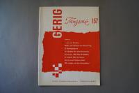 Gerig Tanzserie Heft 157 Notenheft