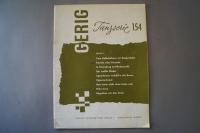 Gerig Tanzserie Heft 154 Notenheft