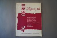 Gerig Tanzserie Heft 156 Notenheft
