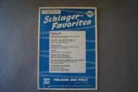 Melodie der Welt Schlager-Favoriten Heft 112Notenheft