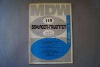 Melodie der Welt Schlager-Favoriten Heft 119 Notenheft