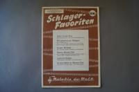 Melodie der Welt Schlager-Favoriten Heft 106 Notenheft