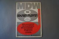 Melodie der Welt Schlager-Favoriten Heft 150 Notenheft
