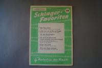Melodie der Welt Schlager-Favoriten Heft 104 Notenheft