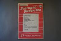 Melodie der Welt Schlager-Favoriten Heft 105 Notenheft