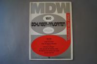 Melodie der Welt Schlager-Favoriten Heft 160 Notenheft