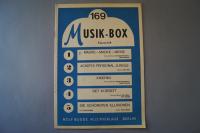 Musik-Box Heft 169 Notenheft
