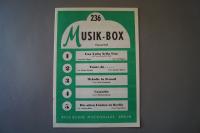 Musik-Box Heft 236 Notenheft