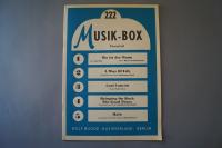 Musik-Box Heft 222 Notenheft