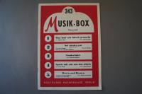 Musik-Box Heft 243 Notenheft