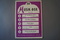Musik-Box Heft 264 Notenheft