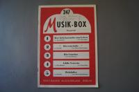 Musik-Box Heft 247 Notenheft