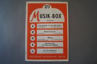 Musik-Box Heft 273 Notenheft