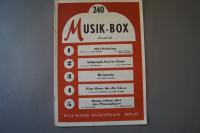 Musik-Box Heft 240 Notenheft