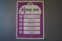 Musik-Box Heft 230 Notenheft