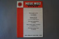 Neue Welt Serie Heft 16 Notenheft
