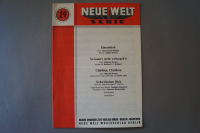 Neue Welt Serie Heft 29 Notenheft