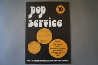 Pop Service Heft 10 Notenheft