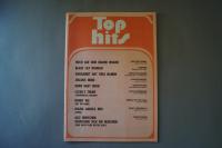 Top Hits Heft 14 Notenheft