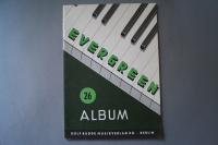 Evergreen Album 26 Notenheft