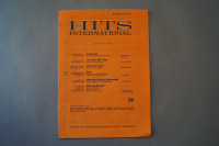 Hits International Heft 59 Notenheft
