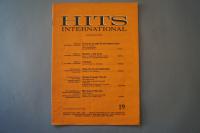 Hits International Heft 19 Notenheft