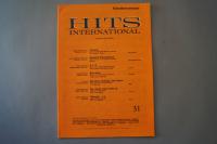 Hits International Heft 31 Notenheft