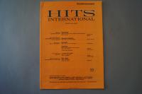 Hits International Heft 33 Notenheft