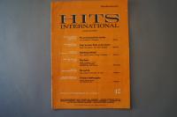 Hits International Heft 10 Notenheft