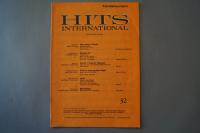 Hits International Heft 32 Notenheft