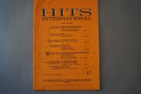 Hits International Heft 17 Notenheft