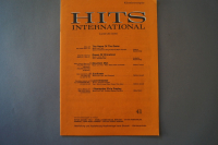 Hits International Heft 41 Notenheft
