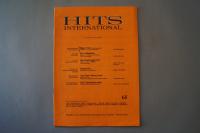 Hits International Heft 65 Notenheft