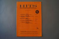 Hits International Heft 70 Notenheft