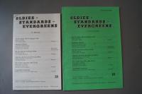 Oldies Standards Evergreens Heft 18 plus Beiheft C-Stimme Notenheft