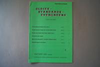 Oldies Standards Evergreens Heft 1 Notenheft