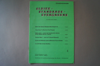 Oldies Standards Evergreens Heft 4 Notenheft