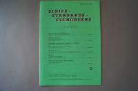 Oldies Standards Evergreens Heft 12 Notenheft