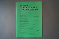 Oldies Standards Evergreens Heft 13 Notenheft