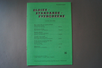 Oldies Standards Evergreens Heft 16 Notenheft
