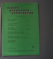 Oldies Standards Evergreens Heft 26 Notenheft