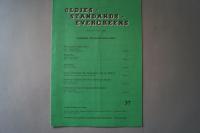 Oldies Standards Evergreens Heft 37 Notenheft