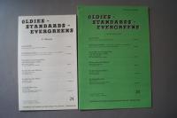 Oldies Standards Evergreens Heft 24 plus Beiheft C-Stimme Notenheft