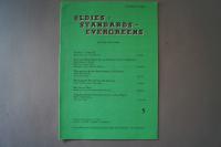 Oldies Standards Evergreens Heft 5 Notenheft